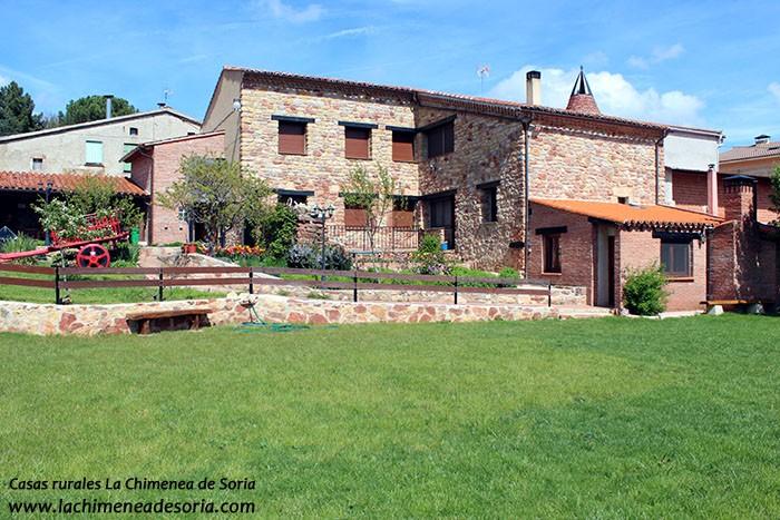 Casa rural cerca del ca n del r o lobos chimenea de soria - Casas rurales cerca de talavera ...