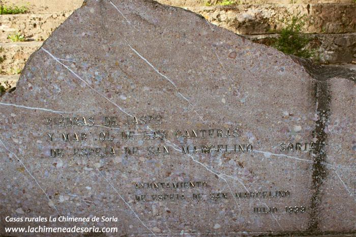 espeja de san marcelino monumento canteras