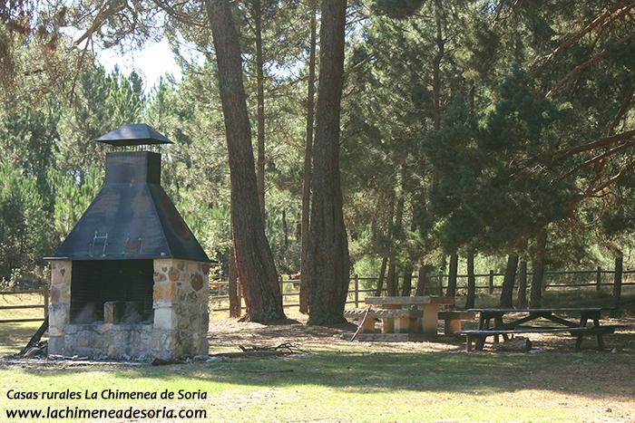 area recreativa fuente del pino parque natural del cañón del río lobos