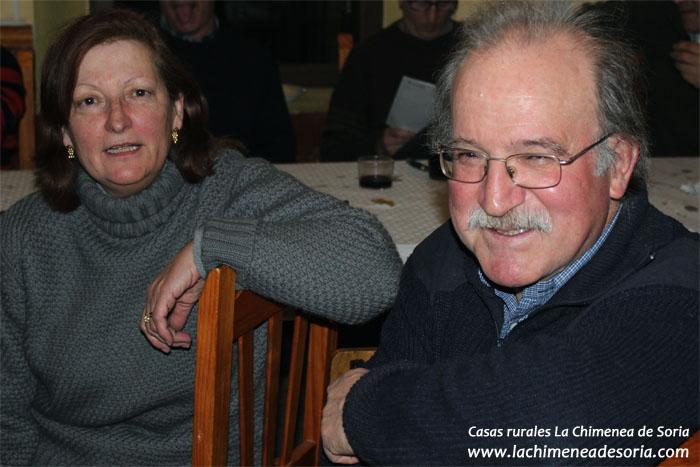 Los dueños de las casas rurales La Chimenea de Soria