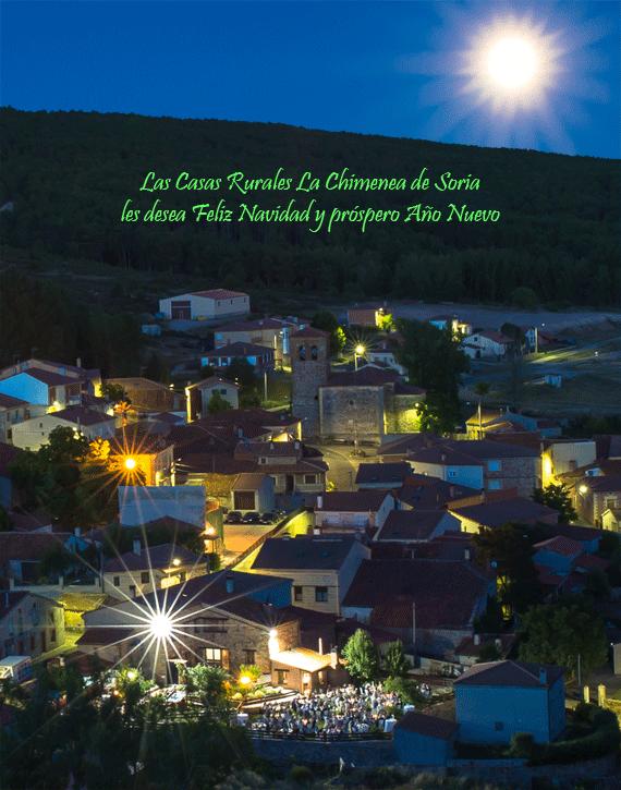 Felitación navideña para el 2014 de las Casas Rurales La Cimenea de Soria