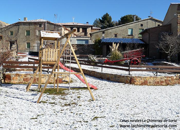 nieve en Espeja (Soria) 2