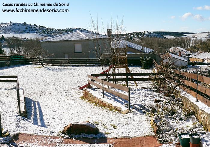 nieve en Espeja (Soria) 3