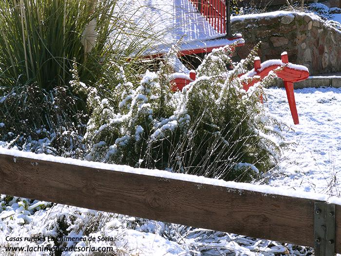 nieve en Espeja (Soria)