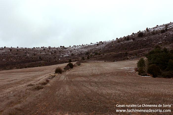 sierra de Costalago Espeja en invierno