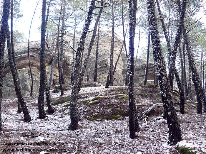 formaciones rocosas en Espeja