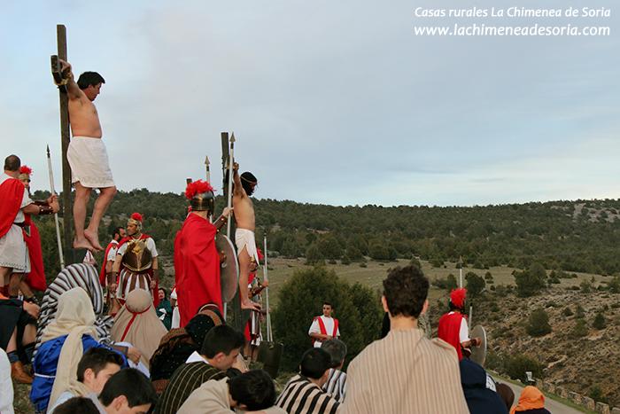 via crucis en arauzo de miel 2015 jesucristo crucificado