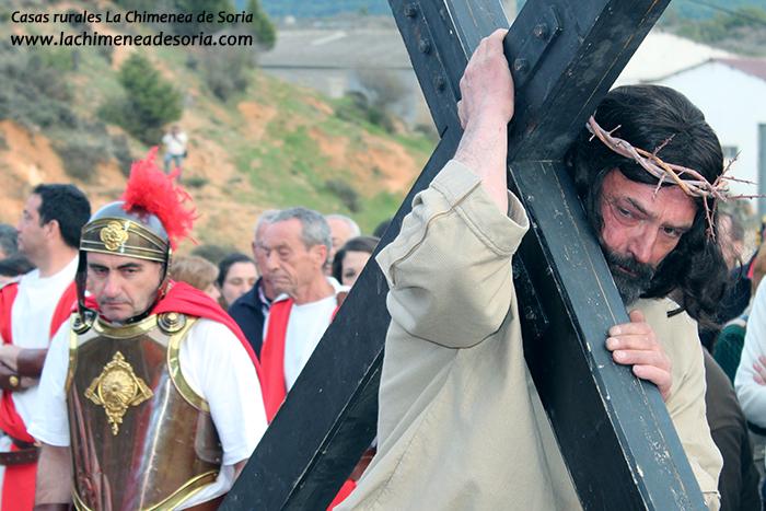 via crucis en arauzo de miel 2015 jesucristo
