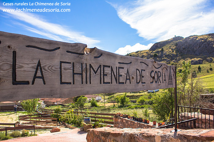 Casa Rural La Chimenea de Soria cartel