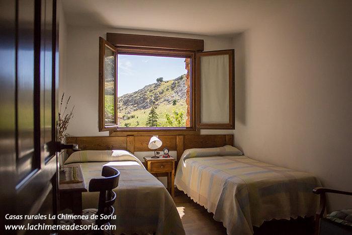 Casa Rural La Chimenea de Soria habitación