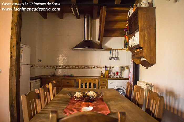 Casa Rural La Chimenea de Soria cocina
