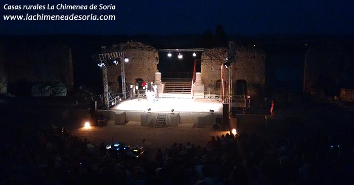 festival de clunia anfiteatro romano dios woody allen