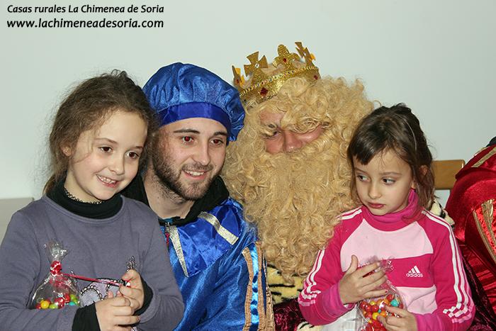 reyes magos en un pueblo espeja de san marcelino soria