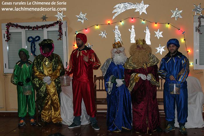 reyes magos en un pueblo 2016 orillares