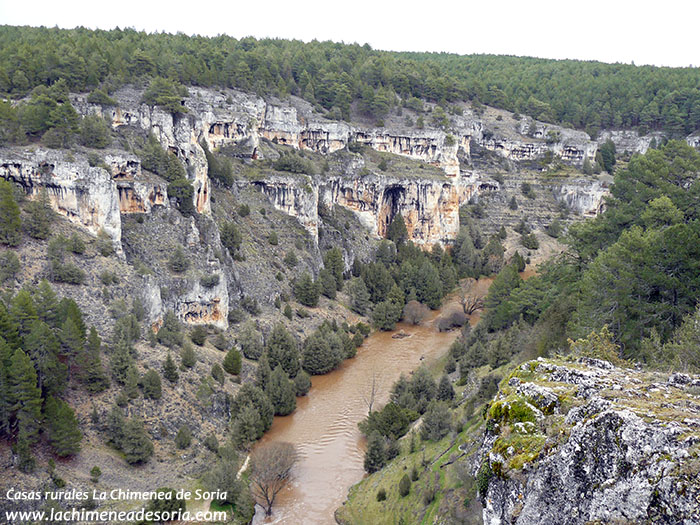 cañon del rio lobos desde el castillo billido 2