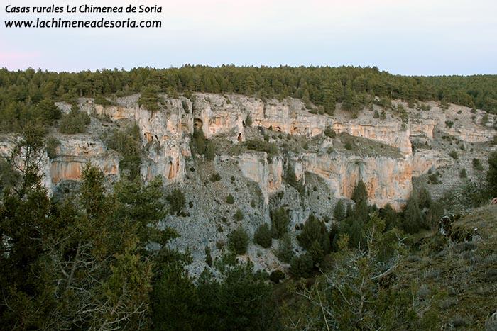 cañon del rio lobos desde el castillo billido parque natural soria 2