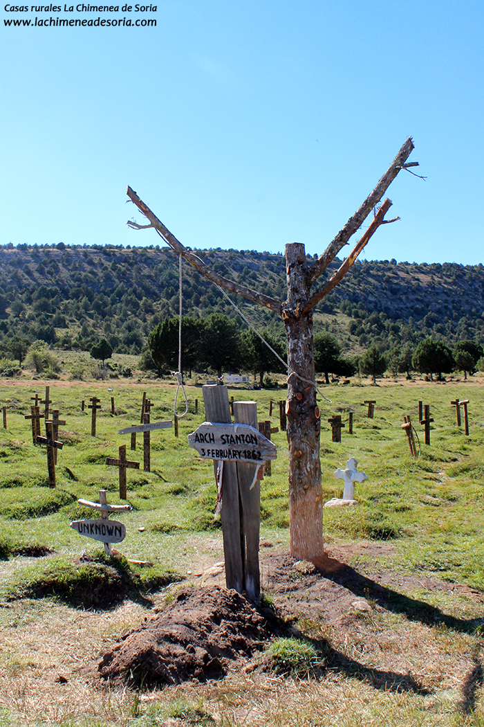 cementerio sad hill contreras santo domingo de silos burgos el bueno el feo y el malo localizacion