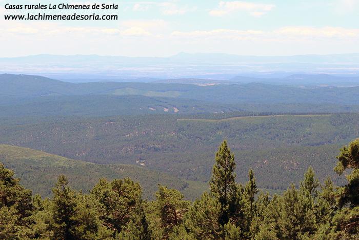 mirador de cabeza alta vistas comarca de pinares