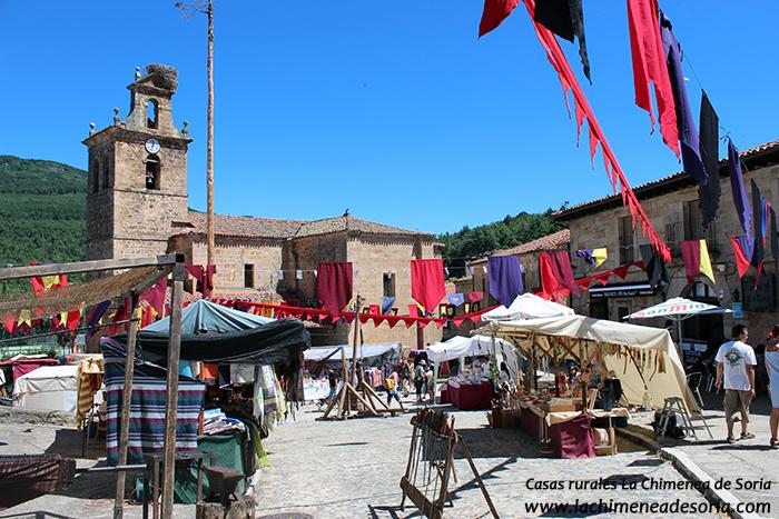 molinos de duero soria mercado medieval