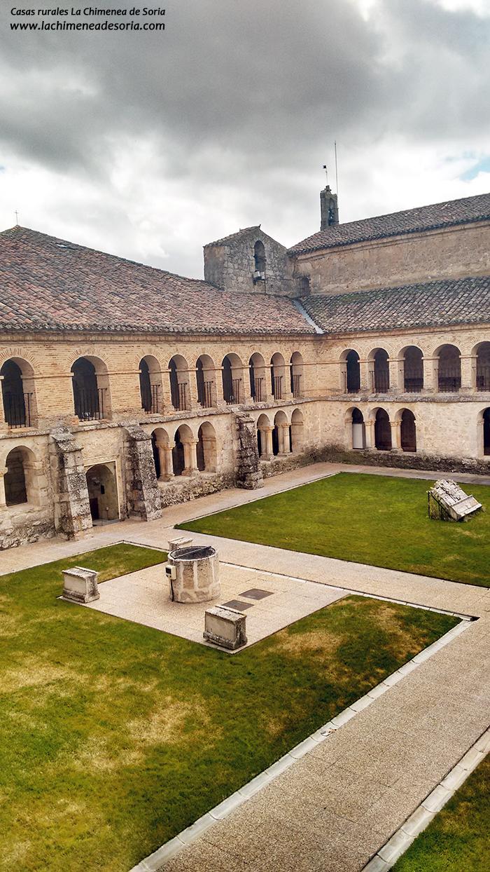 monasterio de santo domingo de guzman caleruega burgos claustro
