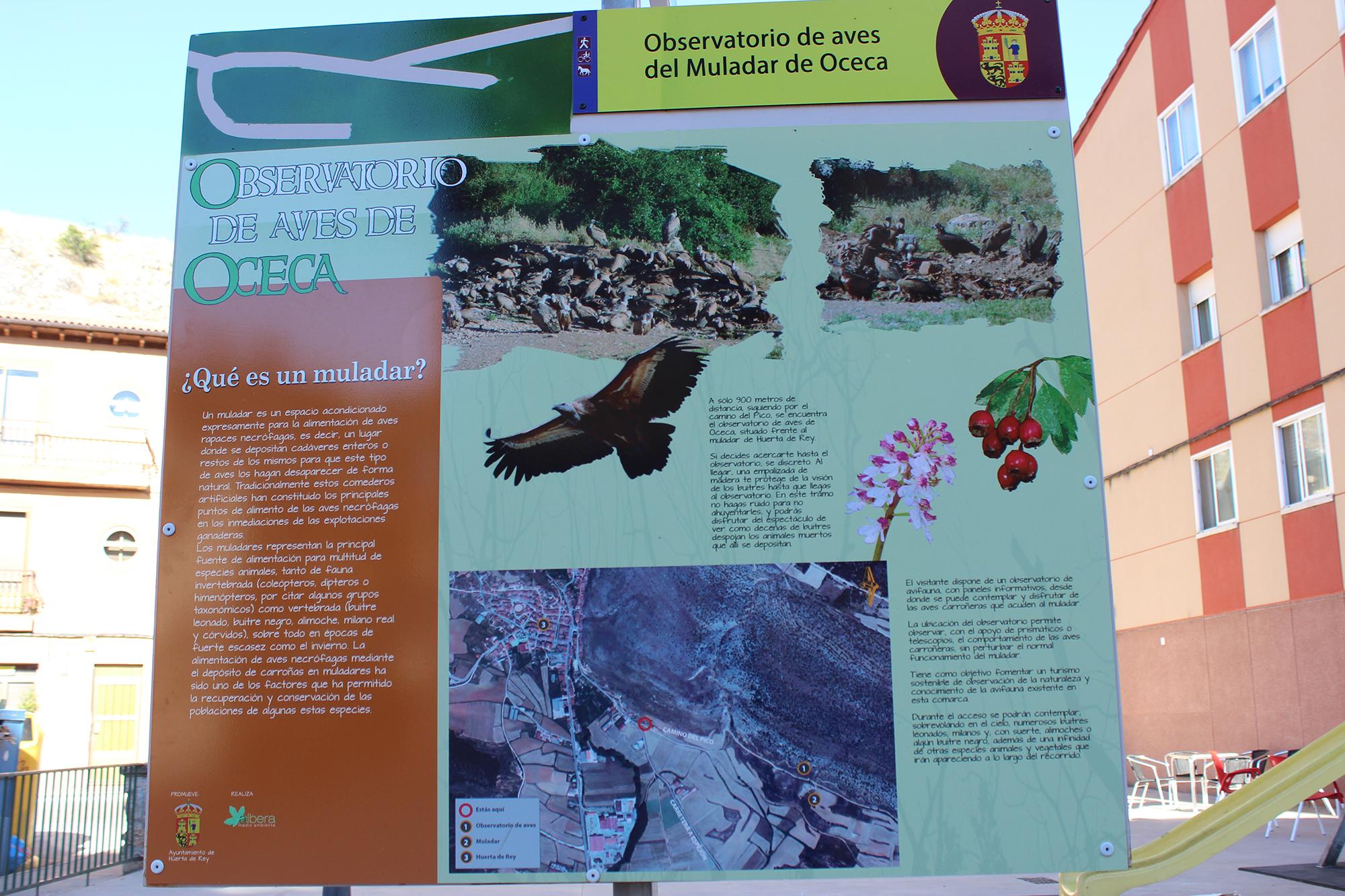 muladar mirador aves huerta de rey burgos