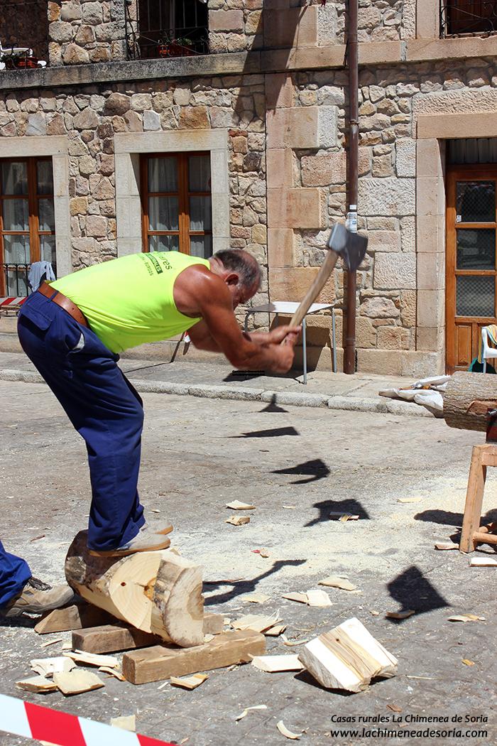 tala troncos campeonato molinos de duero soria
