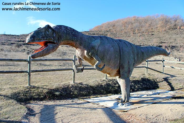 bretun dinosaurio Tyrannosaurus rex tierras altas