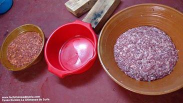 matanza cerdo chorizo salchichon