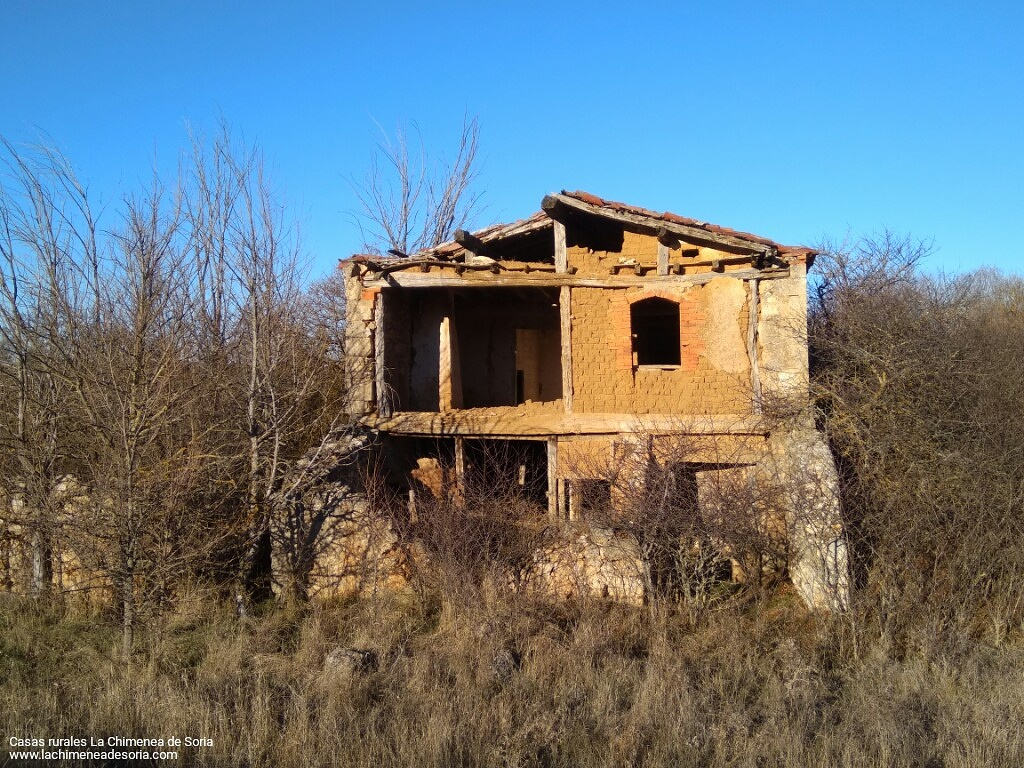 ruinas molino cereal antiguo guijosa soria