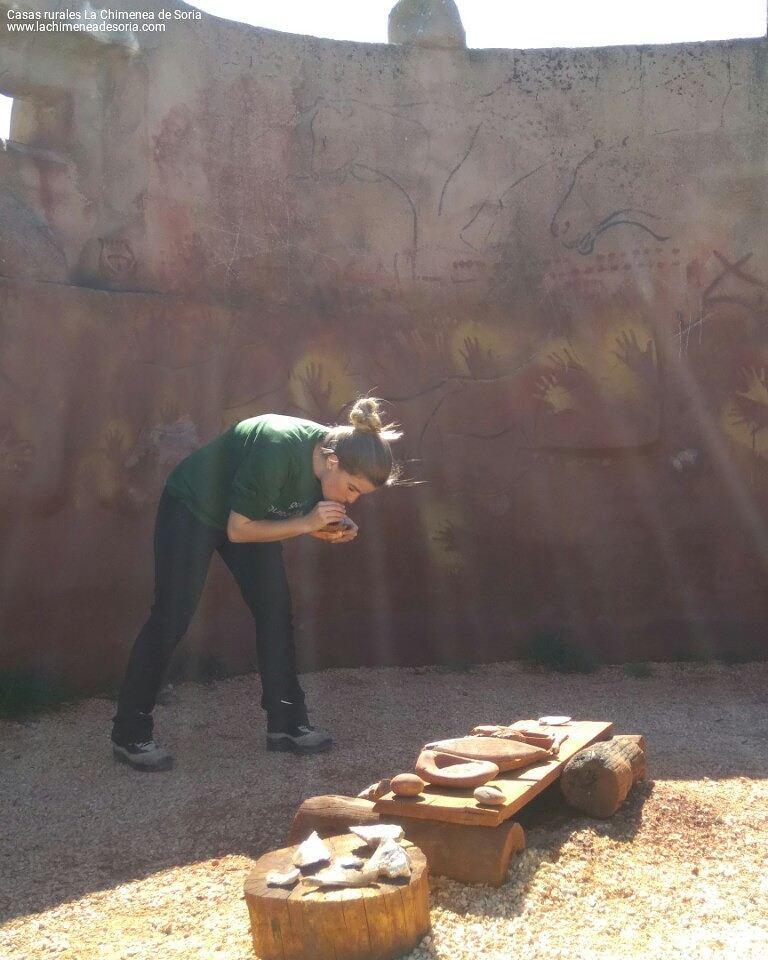 carex atapuerca pintando aerografo prehistoria pinturas rupestres