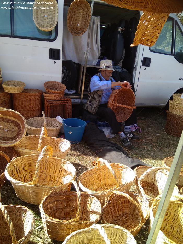 cesteria tradicional romeria santa lucia hacinas