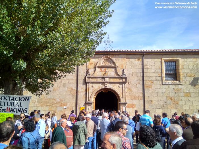 ermita de santa lucia romeria hacinas