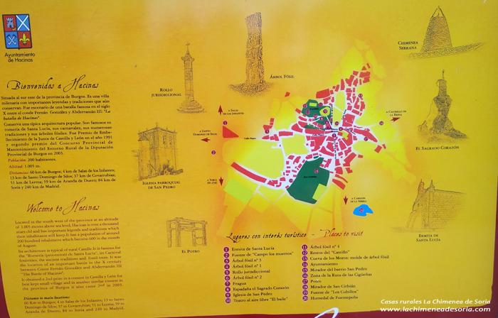 hacinas mapa turistico