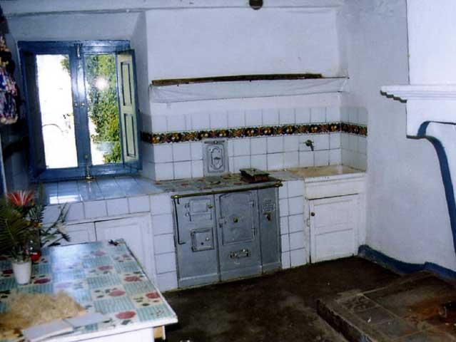 Cocina de la vieja casa